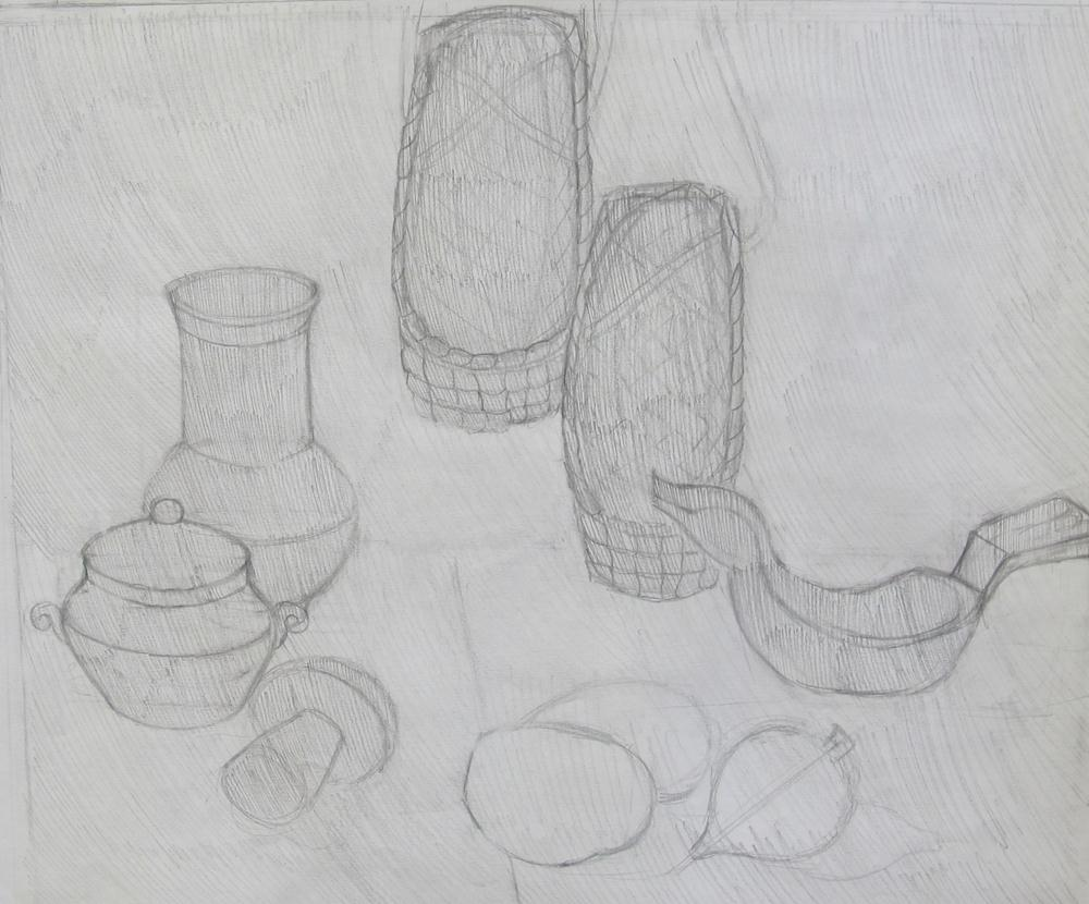 Картинки для 6 класса по изо карандашом